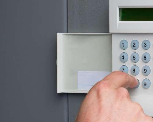 Пульт управления сигнализацией в доме