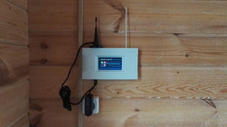 Модуль управления сигнализацией