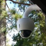 Камера видеонаблюдения на дачном участке